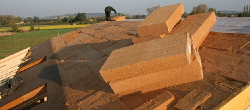 isolation écologique toiture