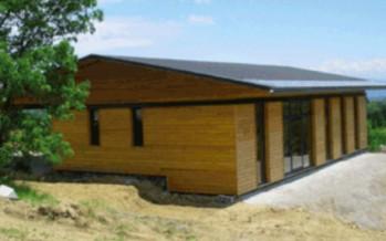 Maisons en bois, basse énergie