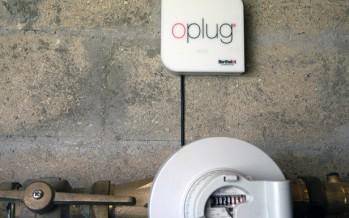 oplug, fuites d'eau sous haute surveillance