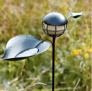 mangeoire metal oiseau