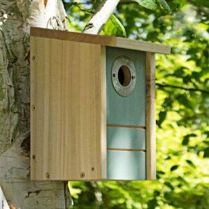 perchoir nichoir mangeoire en bois oiseaux