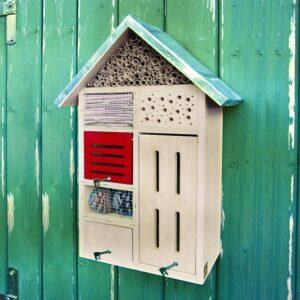 hotel pour insectes jardin