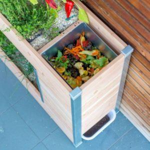 composteur balcon terrasse compost jardin