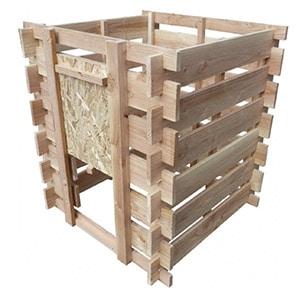 composteur bois douglas