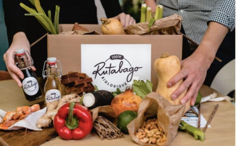 box culinaire bio rutabago
