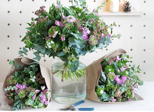 Bouquet fleurs françaises