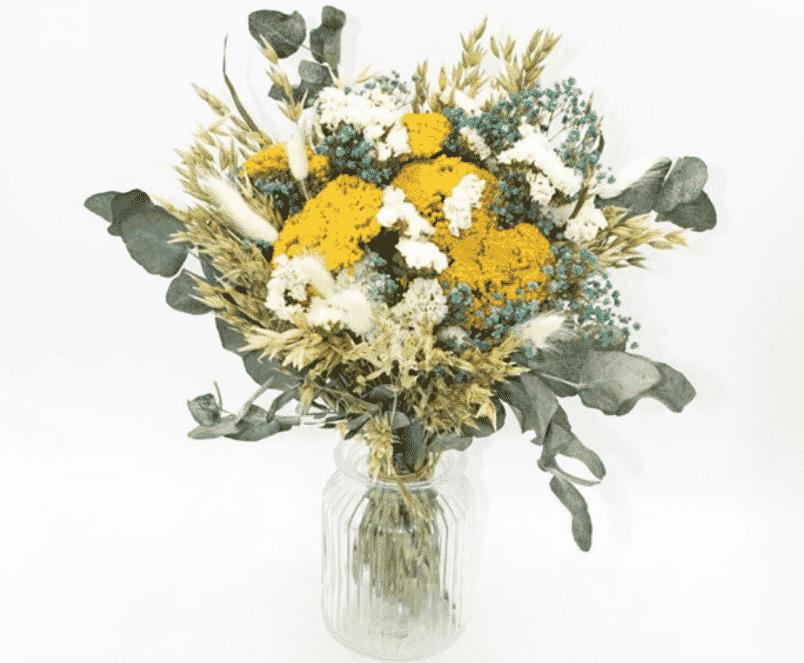 Fleurs séchées au naturel